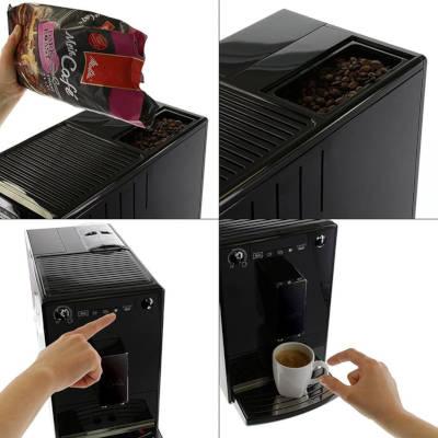 Detail machine à expresso caffeo solo