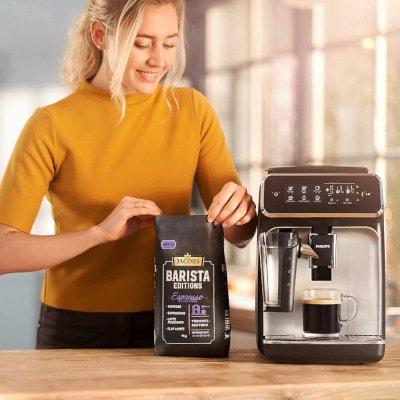 Cafetiere à grains Philips remplissage