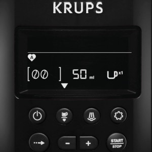 Cafetiere a grains Krups écran LCD