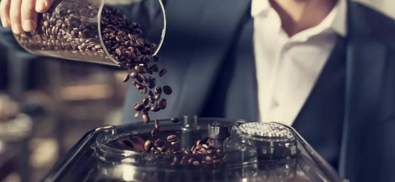 Machine à café à grain Saeco le broyeur