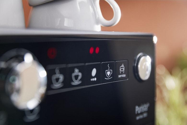 Les boutons de la Melitta purista F230-102 serie 300