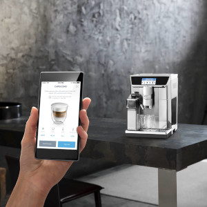 Machine Cafe Delonghi Ecam 650.75 Ms Primadonna Elite Connectee