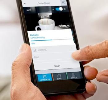 Cafetiere connectée Siemens Eq9 Plus connect